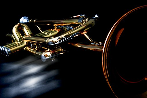 Trumpet in lacquer finish