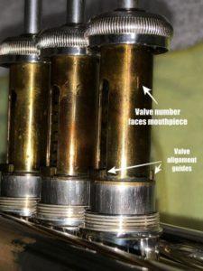 Trumpet Valve Detail