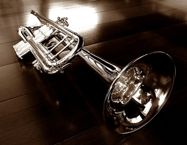 Silver Plated Bach Stradivarius Professional Trumpet